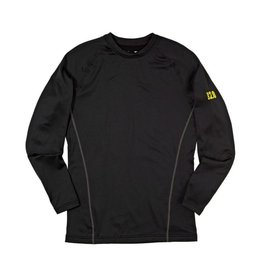 UNDER ARMOUR UA BASE 2.0 CREW-BLK/BTL