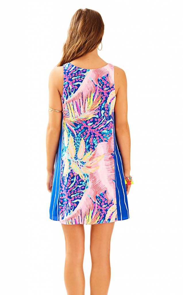 LILLY PULITZER LILLY PULITZER JACKIE SILK SHIFT DRESS