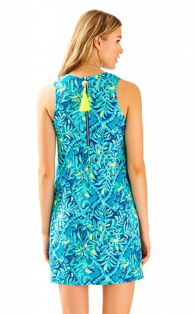 LILLY PULITZER LILLY PULITZER KELBY STRETCH SHIFT DRESS