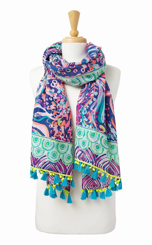 LILLY PULITZER LILLY PULITZER PALM BREEZE WRAP