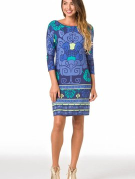 TORI RICHARD LOTUS PLAY DRESS