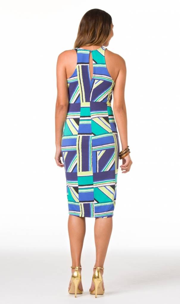 TORI RICHARD TORI RICHARD RIGHT ANGLES KARLEY DRESS