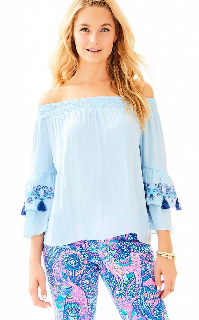 LILLY PULITZER LILLY PULITZER TOBYN TOP