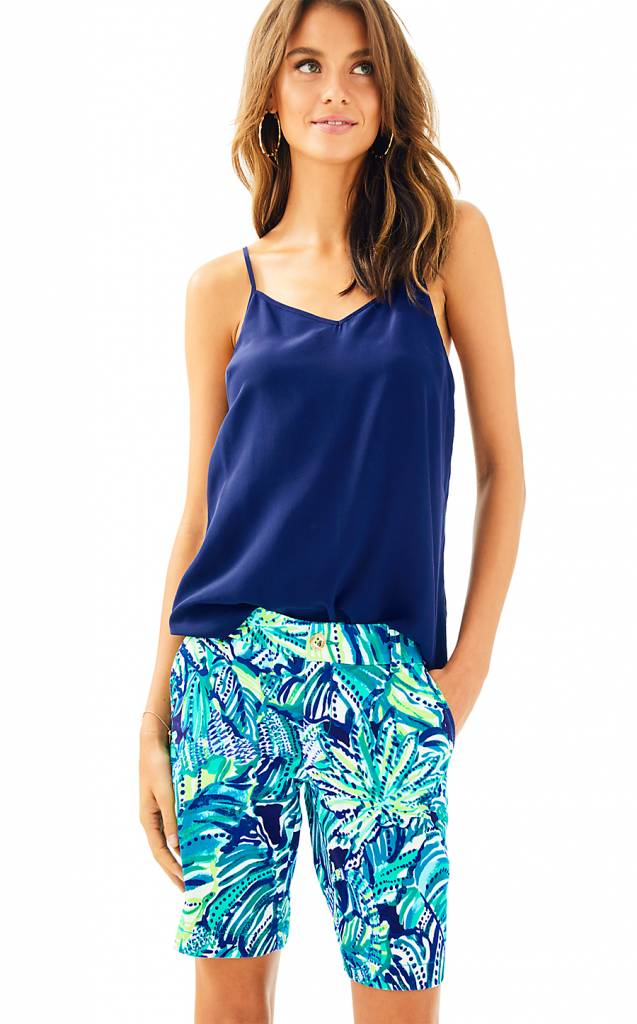 LILLY PULITZER LILLY PULITZER MADINA STRETCH SATEEN BERMUDA