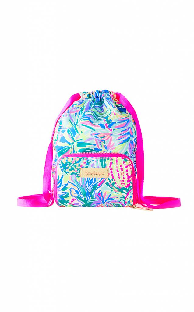LILLY PULITZER LILLY PULITZER PACKABLE BEACH PACK