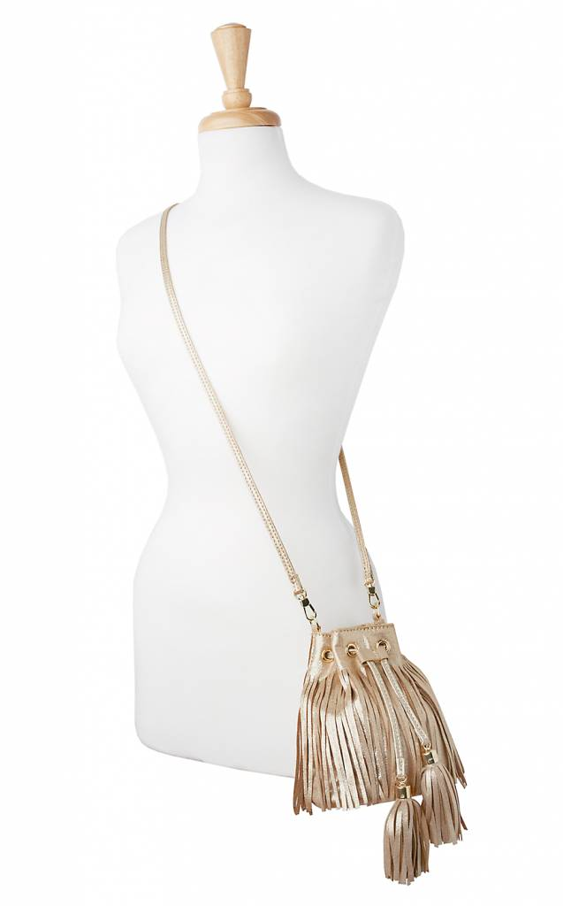 LILLY PULITZER LILLY PULITZER SUNSET SAFARI FRINGE CROSSBODY