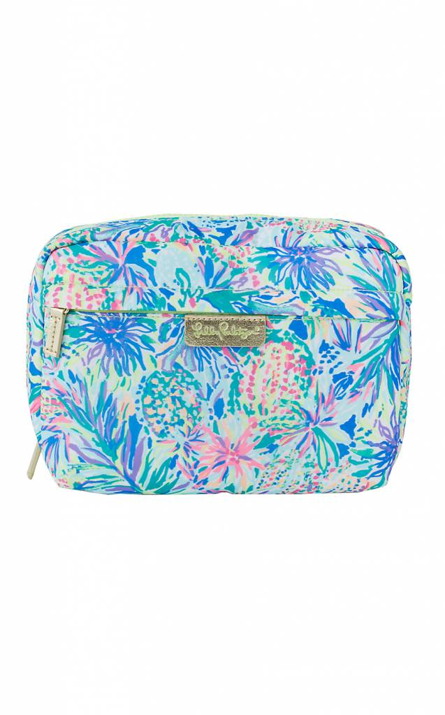LILLY PULITZER LILLY PULITZER TRAVEL COSMETIC CASE