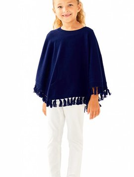 LILLY PULITZER HANI PONCHO SWEATER