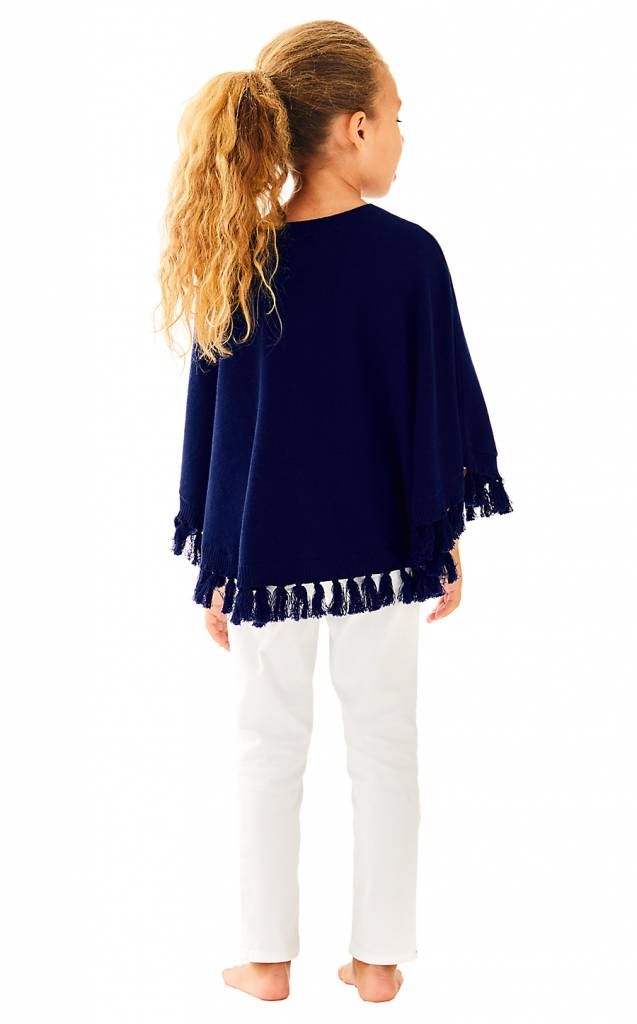 LILLY PULITZER LILLY PULITZER HANI PONCHO SWEATER