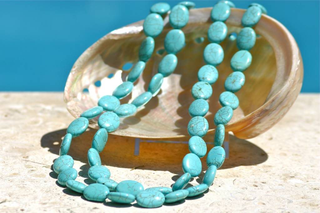 SASHA LICKLE TURQUOISE STONE NECKLACE SLN3