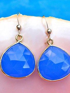 SASHA LICKLE BLUE ONYX DROP EARRINGS