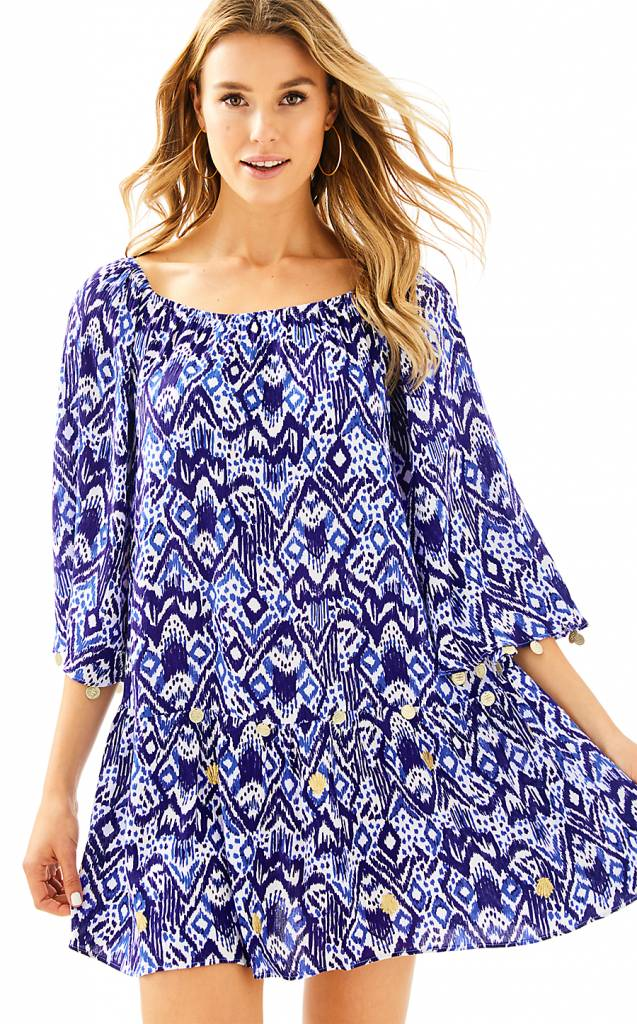 LILLY PULITZER LILLY PULITZER  DELANEY TUNIC DRESS