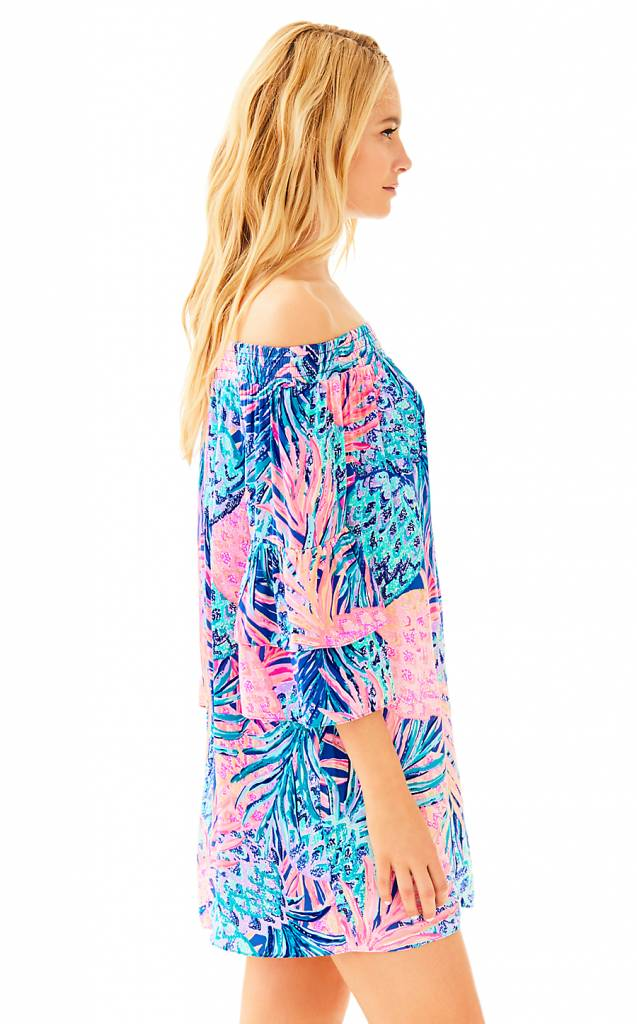 LILLY PULITZER LILLY PULITZER TOBYN TUNIC DRESS