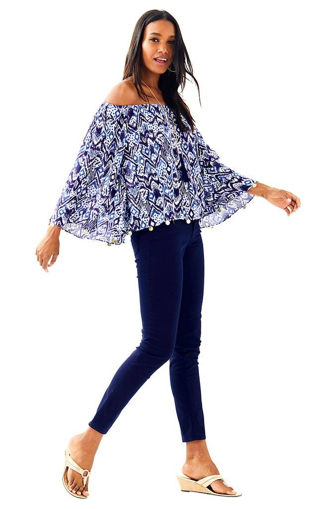 LILLY PULITZER LILLY PULITZER  DELANEY TOP