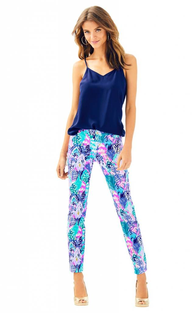 """LILLY PULITZER LILLY PULITZER 29"""" KELLY ANKLE LENGTH SKINNY PANT"""