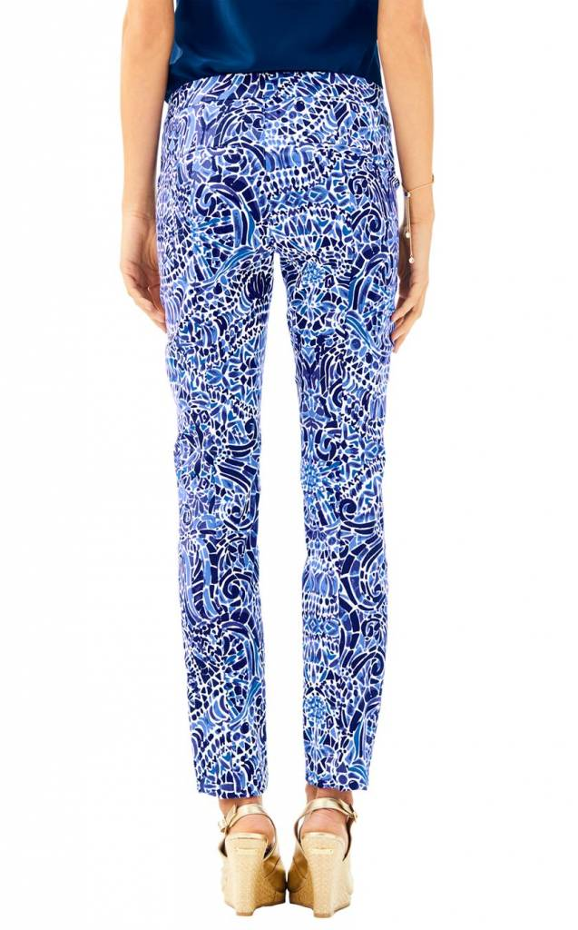 "LILLY PULITZER 29"" KELLY ANKLE LENGTH SKINNY PANT"