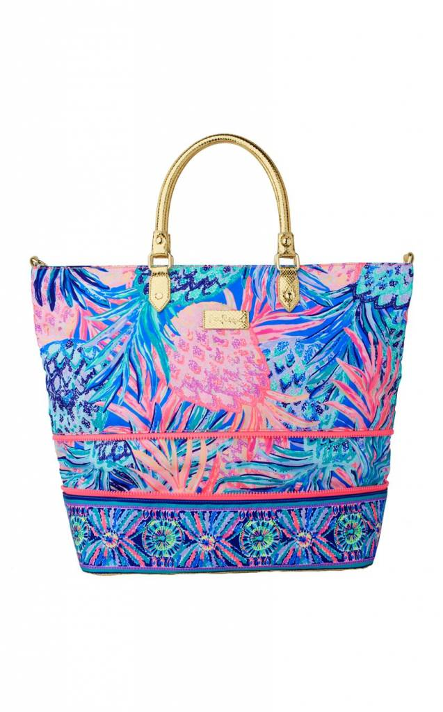 LILLY PULITZER  LILLY PULITZER WEEKENDER TRAVEL TOTE