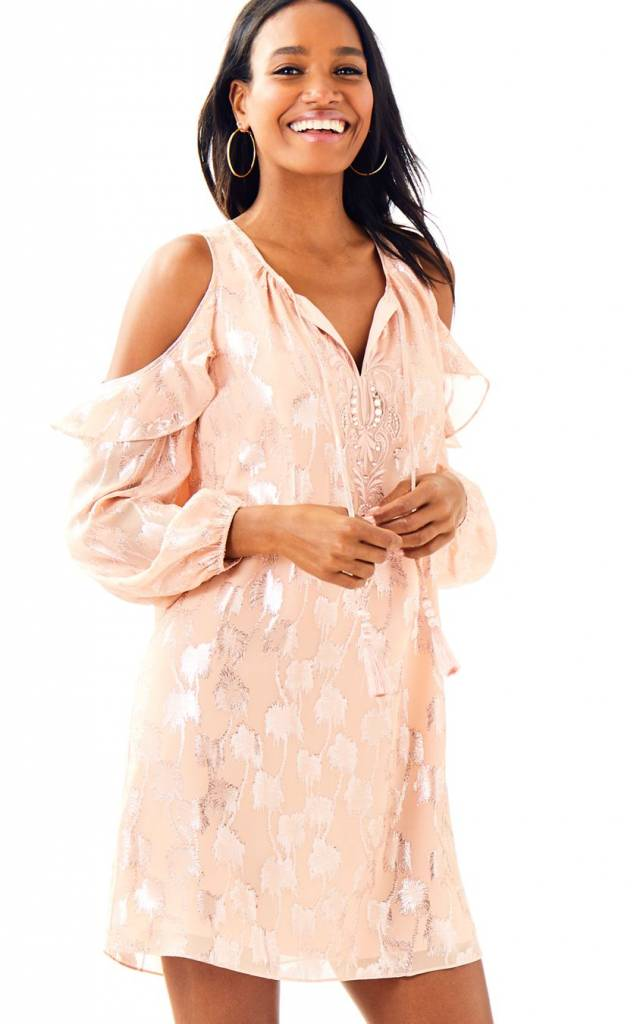 LILLY PULITZER LILLY PULITZER MARLYSE SILK DRESS