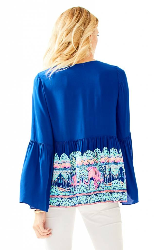 LILLY PULITZER  LILLY PULITZER KAHLI TOP