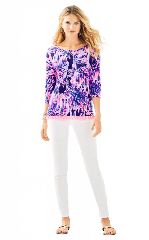LILLY PULITZER  LILLY PULITZER MERCER TOP