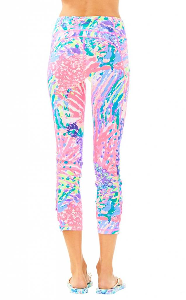 LILLY PULITZER LILLY PULITZER UPF 50+ WEEKENDER CROPPED PANT