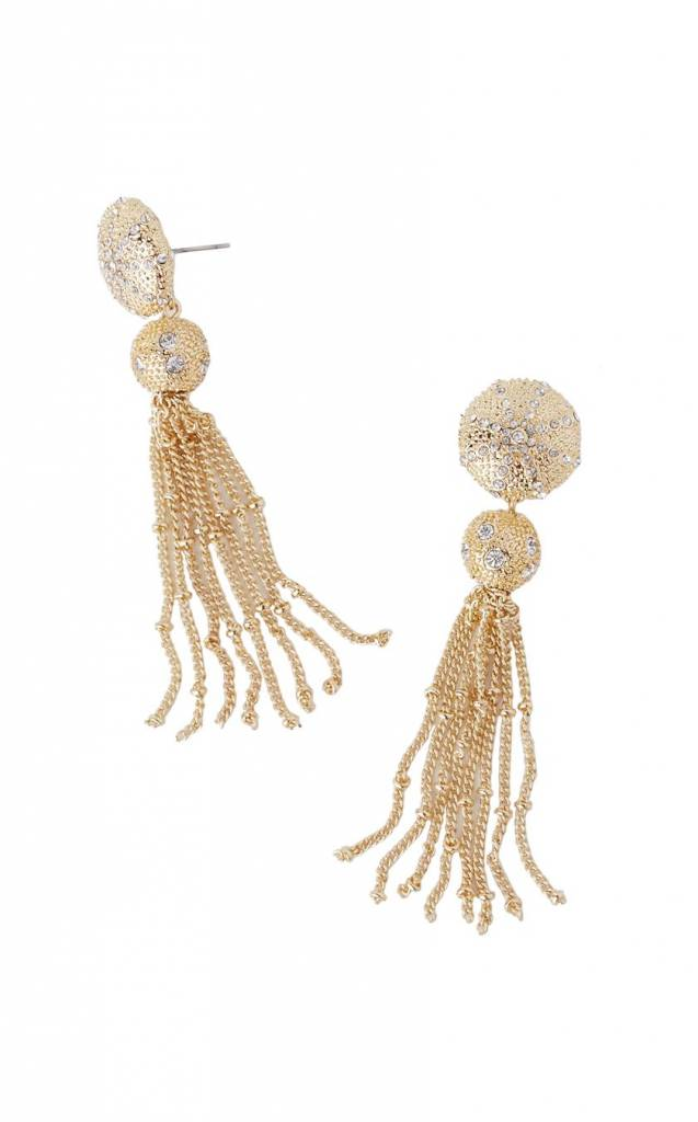 LILLY PULITZER LILLY PULITZER SAND DUNE TASSEL EARRINGS