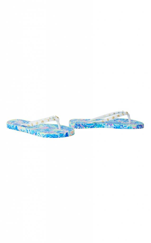 LILLY PULITZER LILLY PULITZER CRITTER FLIP FLOP