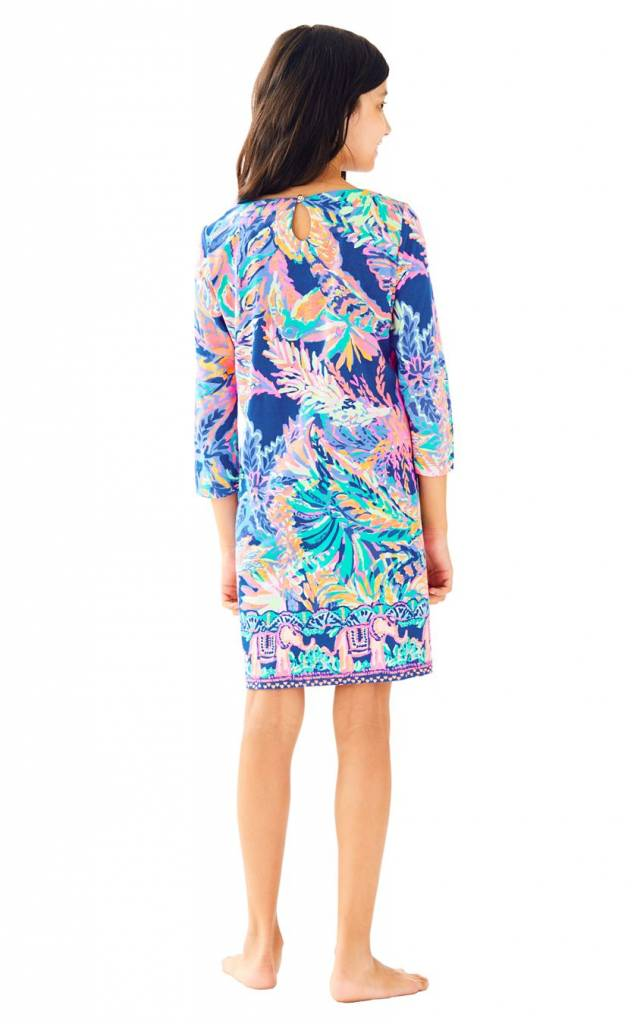 LILLY PULITZER LILLY PULITZER GIRLS LITTLE BAY DRESS