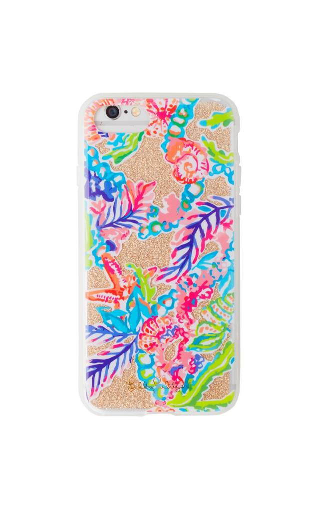 LILLY PULITZER LILLY PULITZER IPHONE 7/8 GLITTER COVER