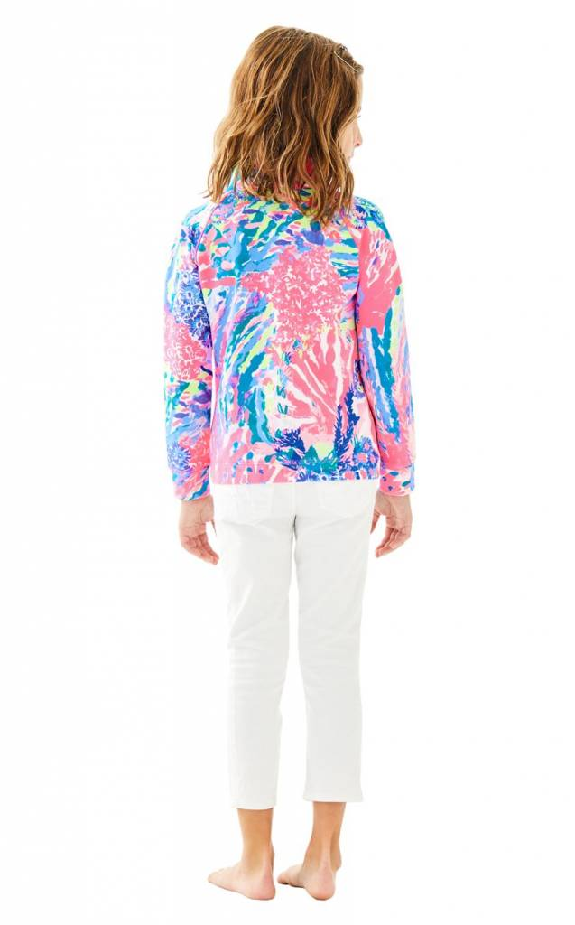 LILLY PULITZER GIRLS LITTLE SKIPPER PRINTED POPOVER