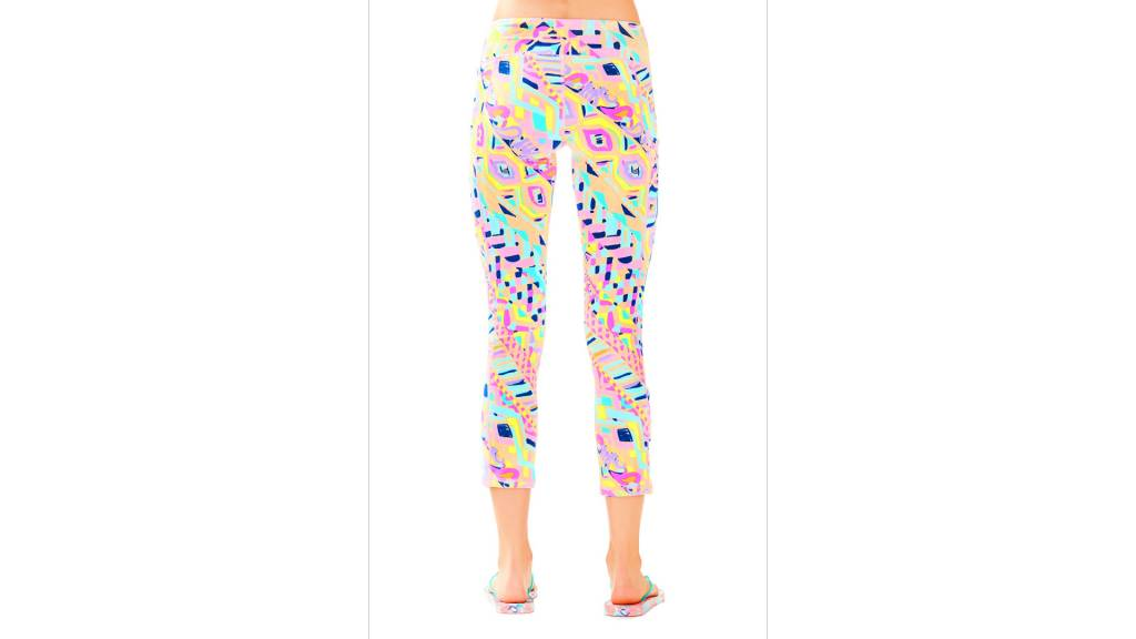 """LILLY PULITZER LILLY PULITZER UPF 50+ LUXLETIC 21"""" WEEKENDER CROPPED PANT"""