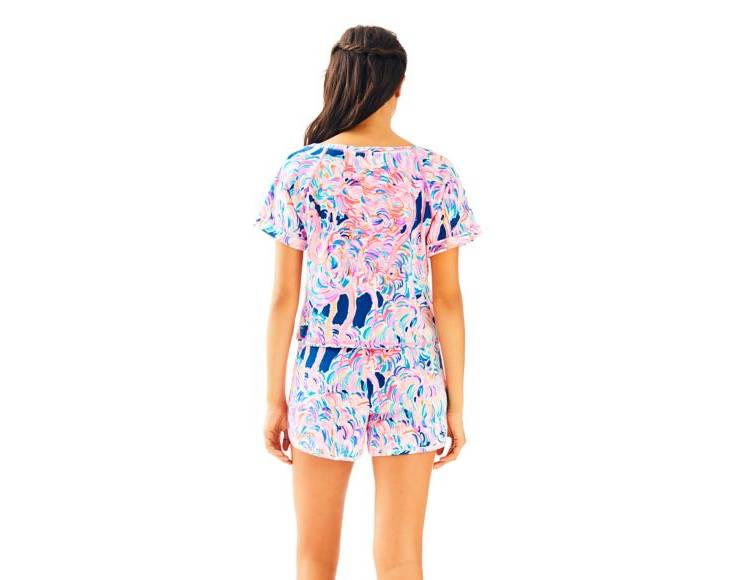 LILLY PULITZER LILLY PULITZER DOSSIE TOP AND SHORT SET
