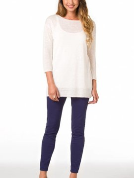 TORI RICHARD SANTORINI KNIT AIDA SWEATER