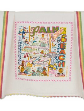 CAT STUDIOS CAT STUDIOS PALM BEACH DISH TOWEL