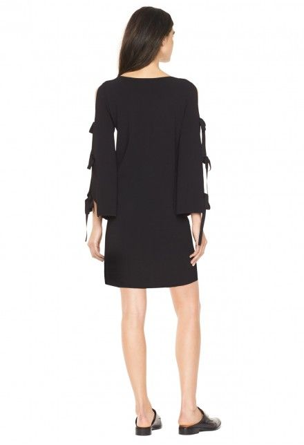 MILLY MILLY TIED TOGETHER FLARE SLEEVE DRESS