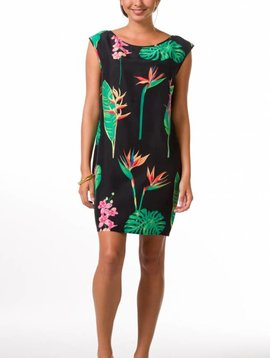 TORI RICHARD MIDNIGHT GARDEN SOPHIE DRESS