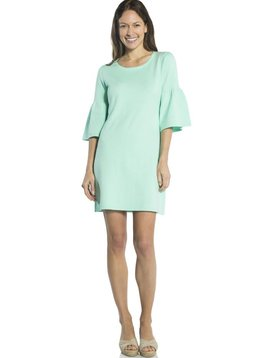 SAIL TO SABLE BELL SLEEVE SWEATER DRESS