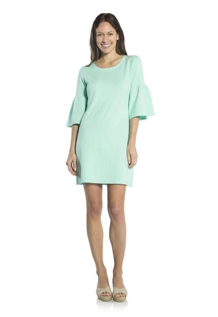 SAIL TO SABLE SAIL TO SABLE BELL SLEEVE SWEATER DRESS