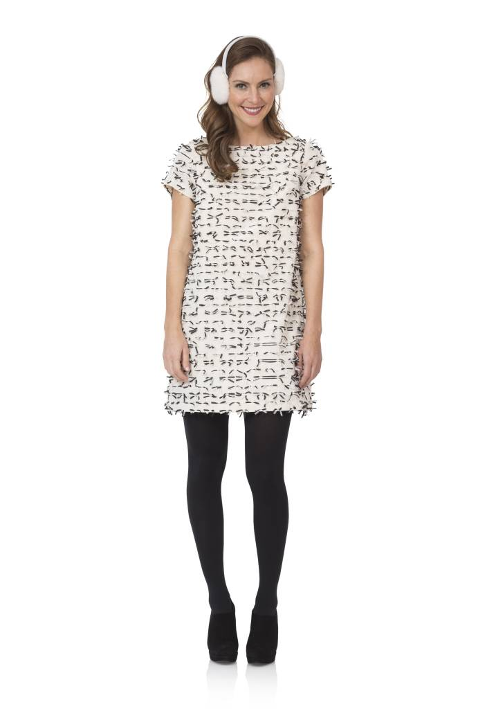 SAIL TO SABLE SAIL TO SABLE BOWS SHIFT DRESS
