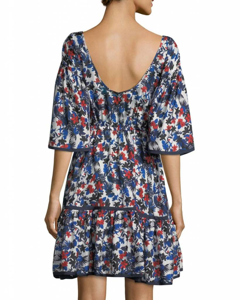 MILLY ROSE FIT-&-FLARE DRESS