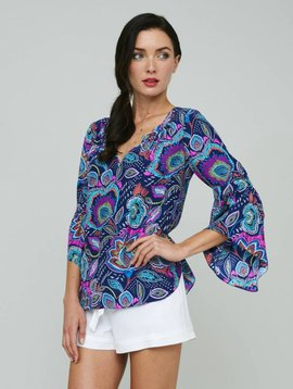 ALICE & TRIXIE VIOLET TOP