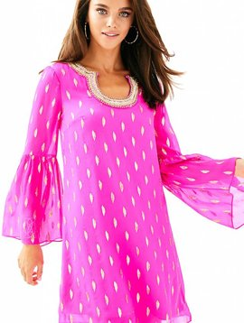 LILLY PULITZER AMORY SILK DRESS