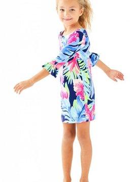 LILLY PULITZER UPF50+ MINI SOPHIE RUFFLE DRESS