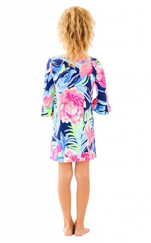 LILLY PULITZER UPF50+ MINI SOPHIE RUFFLE DRESS