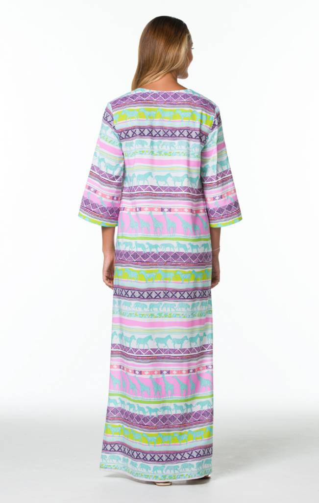 TORI RICHARD CATALIN MAXI DRESS