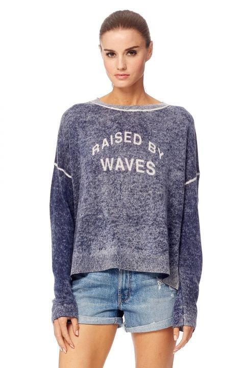 360 SWEATER RAISED BY WAVES CASHMERE SWEATER