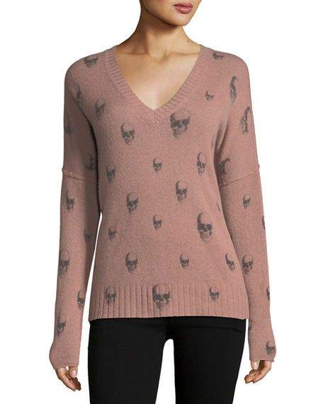 360 SWEATER EMMETT SKULL CASHMERE SWEATER