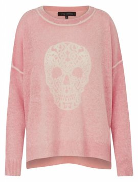360 SWEATER DELARA SKULL CASHMERE SWEATER