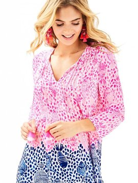 LILLY PULITZER MARILINA TOP