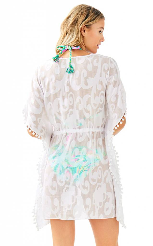 LILLY PULITZER GARDENIA COVERUP